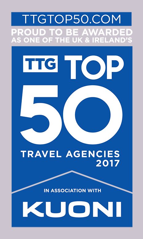 Top 50 Travel Agencies Award 2017